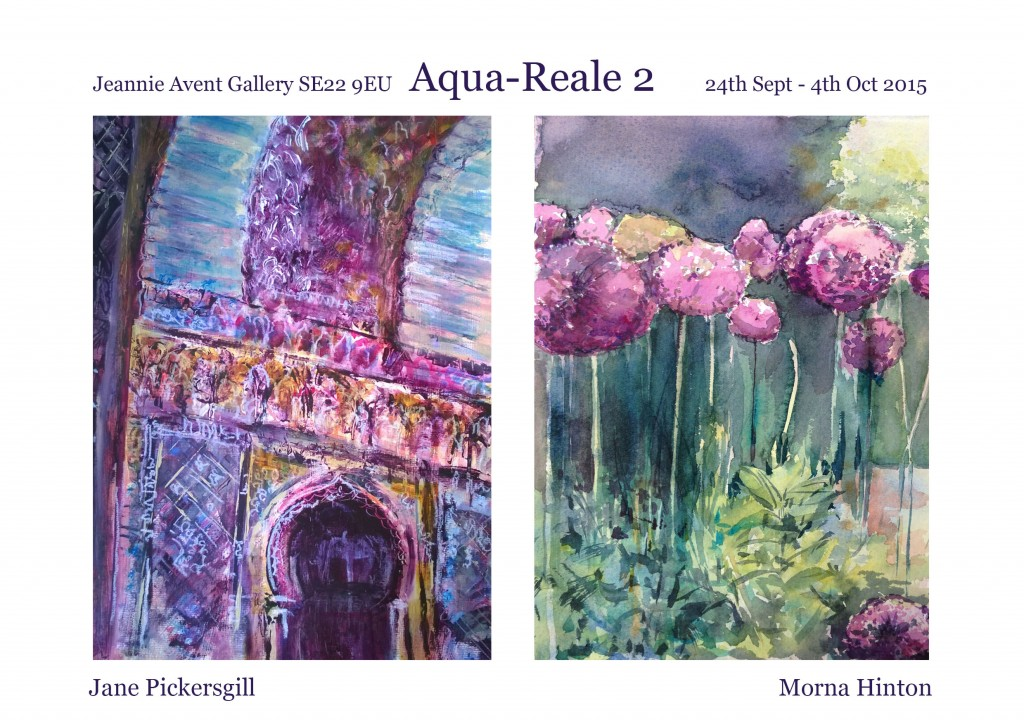 Morna Hinton exhibition - Aqua Reale